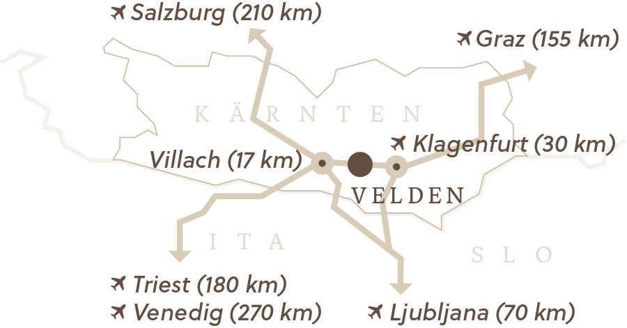 Karawankenblick Map